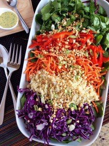 Thai Salad vertical