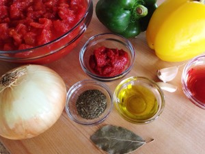 Simple ingredients are the key to this marinara.