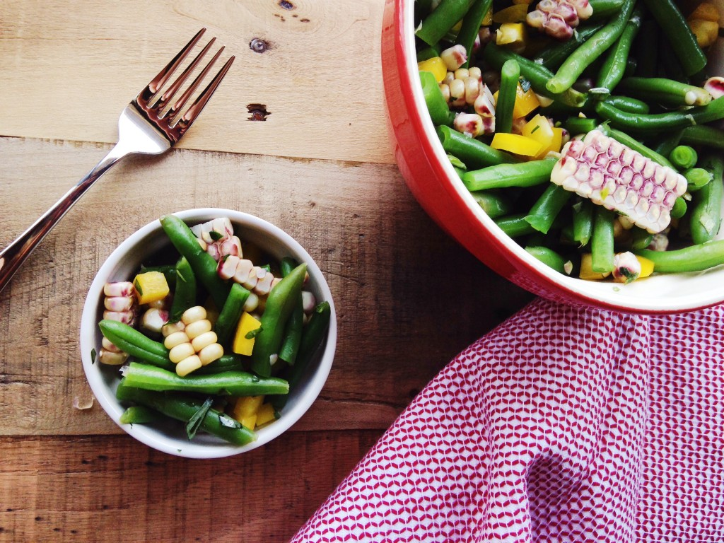 Green Beans and Corn Salad