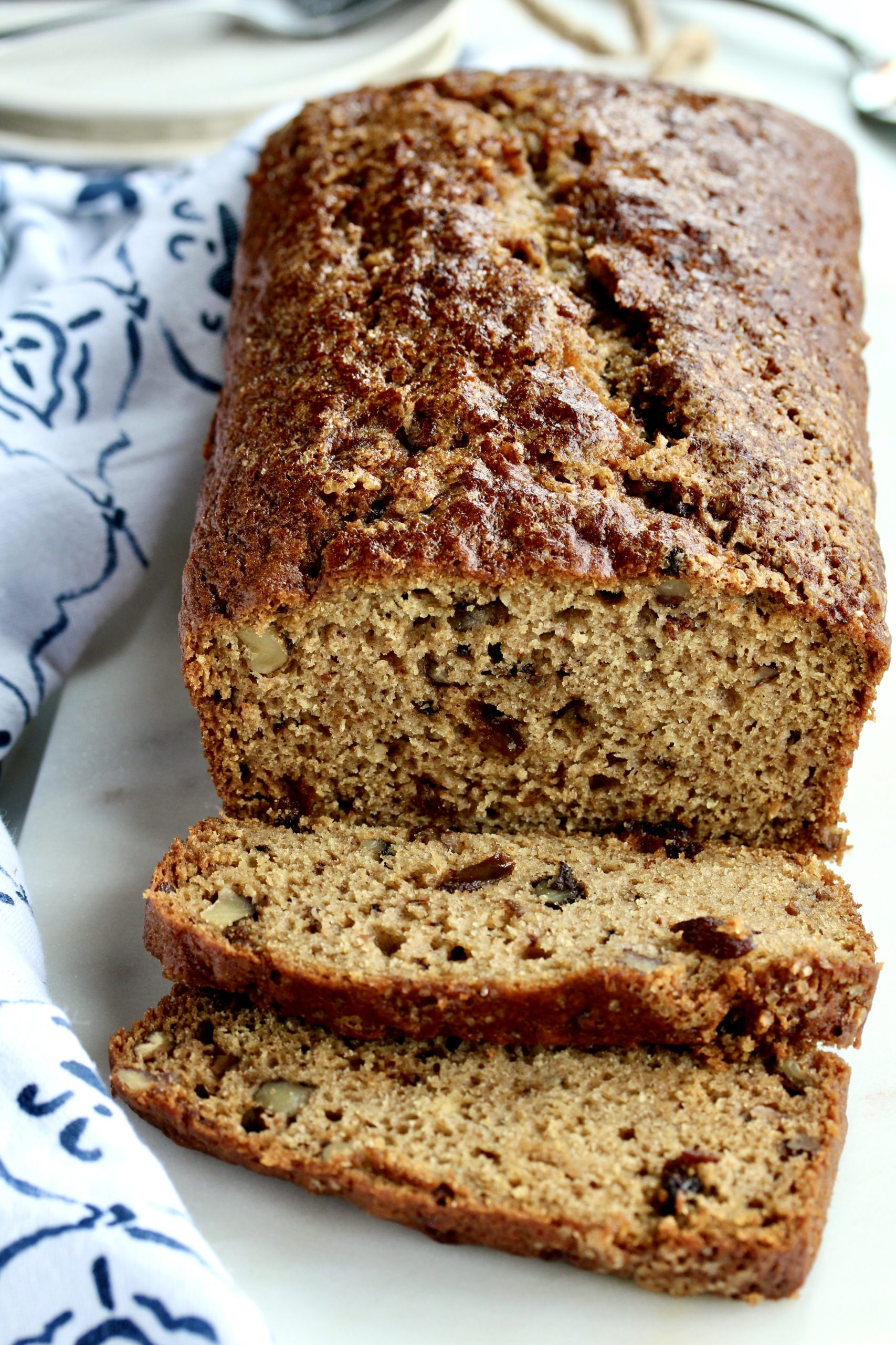 Kitchen Sink Applesauce Bread | @cookinRD