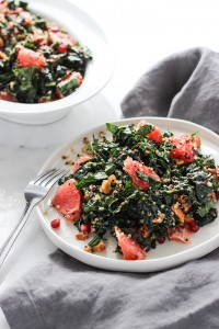 Grapefruit-Kale-Salad