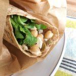 Chickpea Hummus Wrap