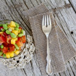 Mango Edamame Salad