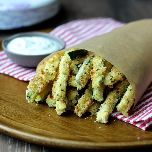 Crispy Zucchini Fries, Dr. Sonali Ruder