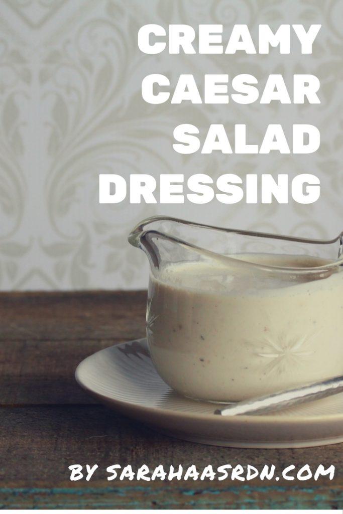 Creamy Caesar Salad Dressing PINTEREST