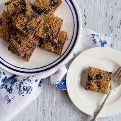 Blueberry Crumble Bars Recipe