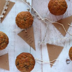 Whole Grain Banana Nut Muffins…That Aren't Dry