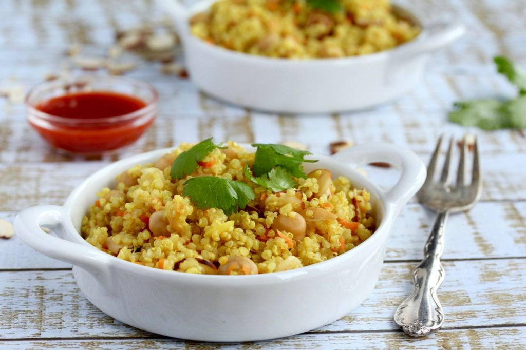 Turmeric Quinoa Bowl