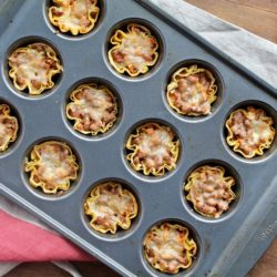 Vegetarian Muffin Tin Tacos