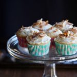 Cupcakes bring joy, so I make them. These Toasted Coconut Cupcakes are reasonably sized and better than the box versions! @cookinRD | sarahaasrdn.com