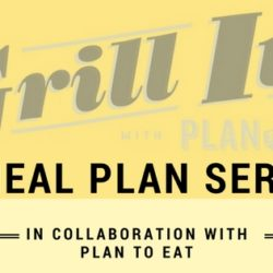 """Grill It!"" Meal Plan Series"