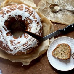 Banana Coconut Bundt Cake