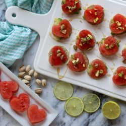 Avocado Watermelon Snacker Crackers