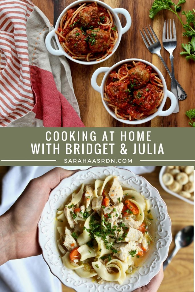 Cooking has never been so fun or delicious! Loving this cookbook from Bridget and Julia of America's Test Kitchen!