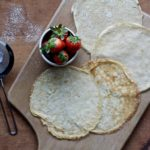 You don't have to go to a restaurant for crepes, you can make them at home. Find out how easy it is! @cookinRD | sarahaasrdn.com