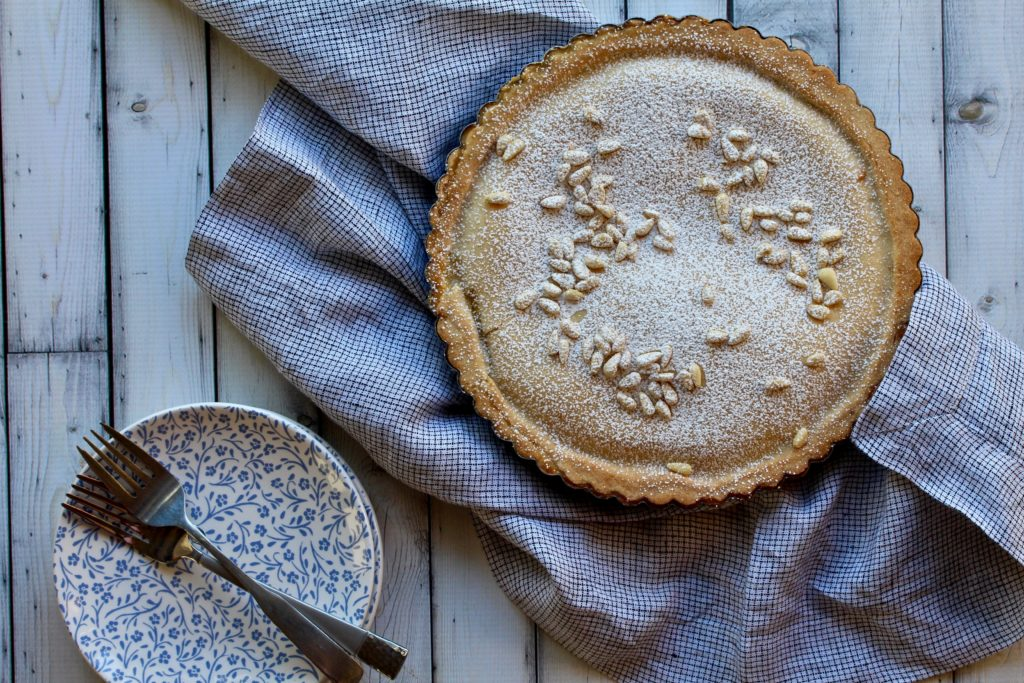A big salute to my final Top Chef Instagram Stories Series. I make a Joe Flamm-inspired torta della nonna! Get the recipe for this yummy dessert now! @cookinRD   sarahaasrdn.com