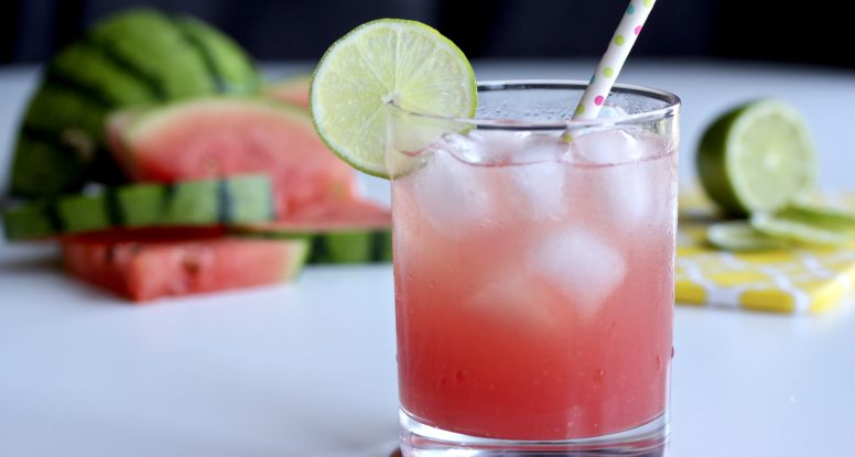It's the summer of agua fresca! I'm predicting it now that all you'll want to drink this summer is THIS refreshing beverage!