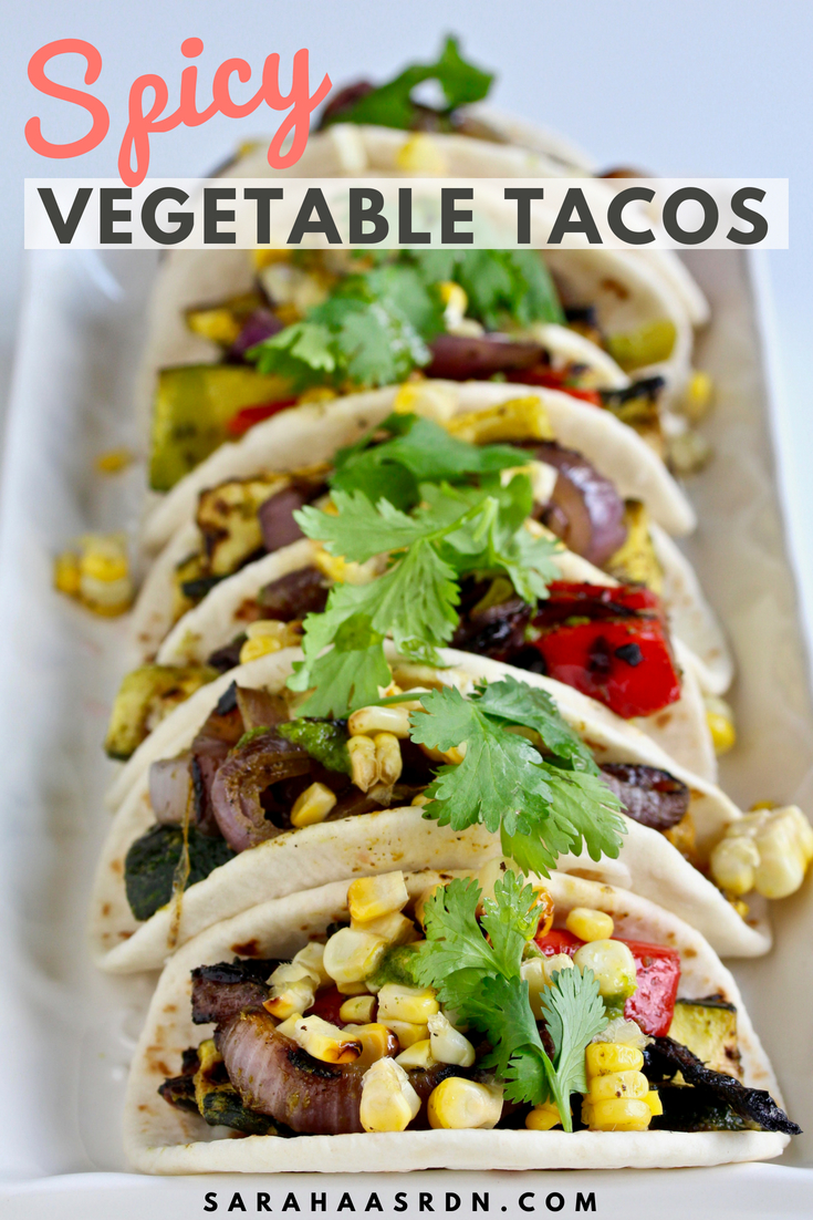 You won't find these Spicy Grilled Vegetable Tacos in Taco! Taco! Taco! Consider this my summer taco gift to you! Because what's better than grilled food in the summer!