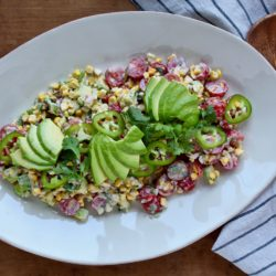 Grilled Sweet Corn Salad