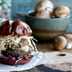 Mushroom Beef Burger Sliders
