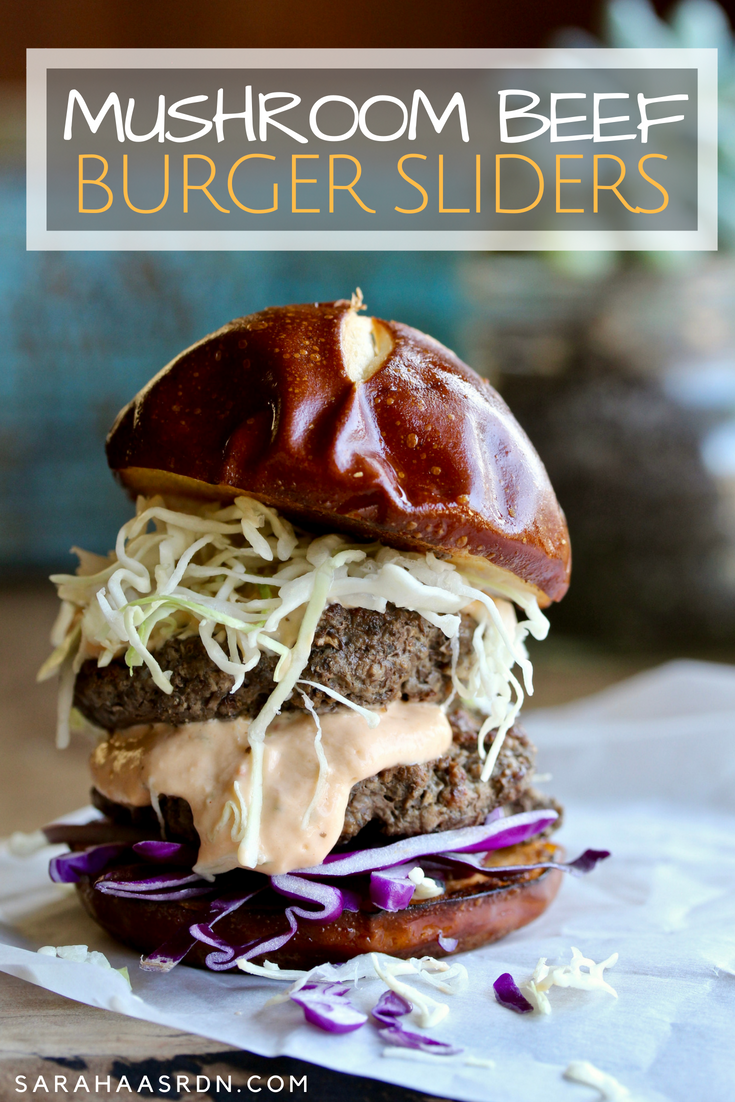 When mushroom and beef meet, they make one incredible burger!