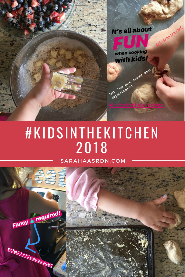 Kids in the kitchen! Getting kids cooking!