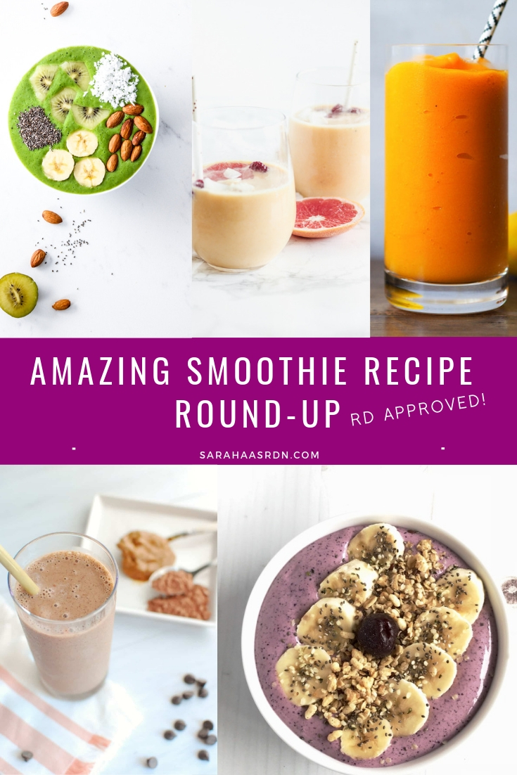 RD Approved Smoothie Recipes