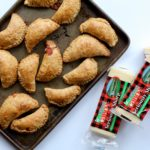Wishing you had an appetizer that was easy to make, tasted delicious and was fun to eat? Well you do! These Homemade Holiday Empanadas festively tasty! @cookinRD | sarahaasrdn.com