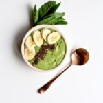 A very lucky bowl indeed! Try this Shamrock Smoothie Bowl and feel as lucky as a leprechaun! @cookinRD | sarahaasrdn.com
