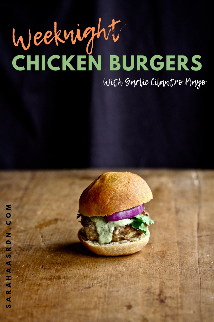 You do have time! These simple Weeknight Chicken Burgers come together quickly and taste delicious!