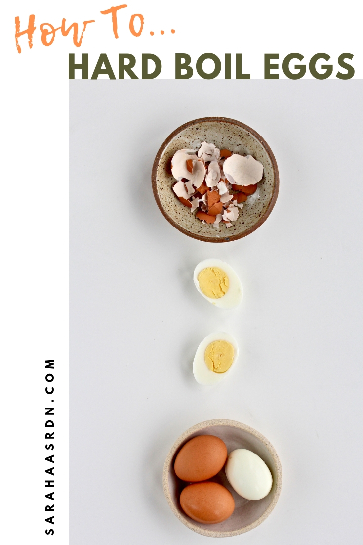 Learn how easy it is to hard boil eggs in 4 simple steps!