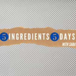 #5Ingredients5Days Introduction