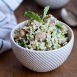 Cilantro-Mint Quinoa Salad