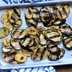 Simple Marinated Grilled Vegetables