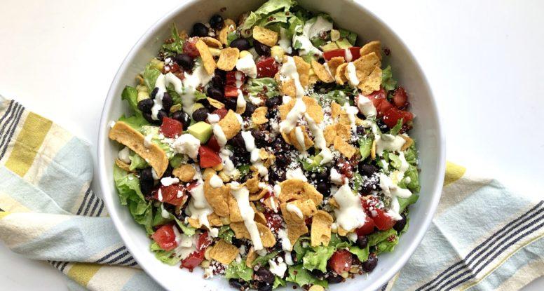 Baja Black Bean Bowl | sarahaasrdn.com
