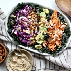Crunchy Coconut Kale Salad