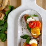 Slow Roasted Tomato Toast | sarahaasrdn.com