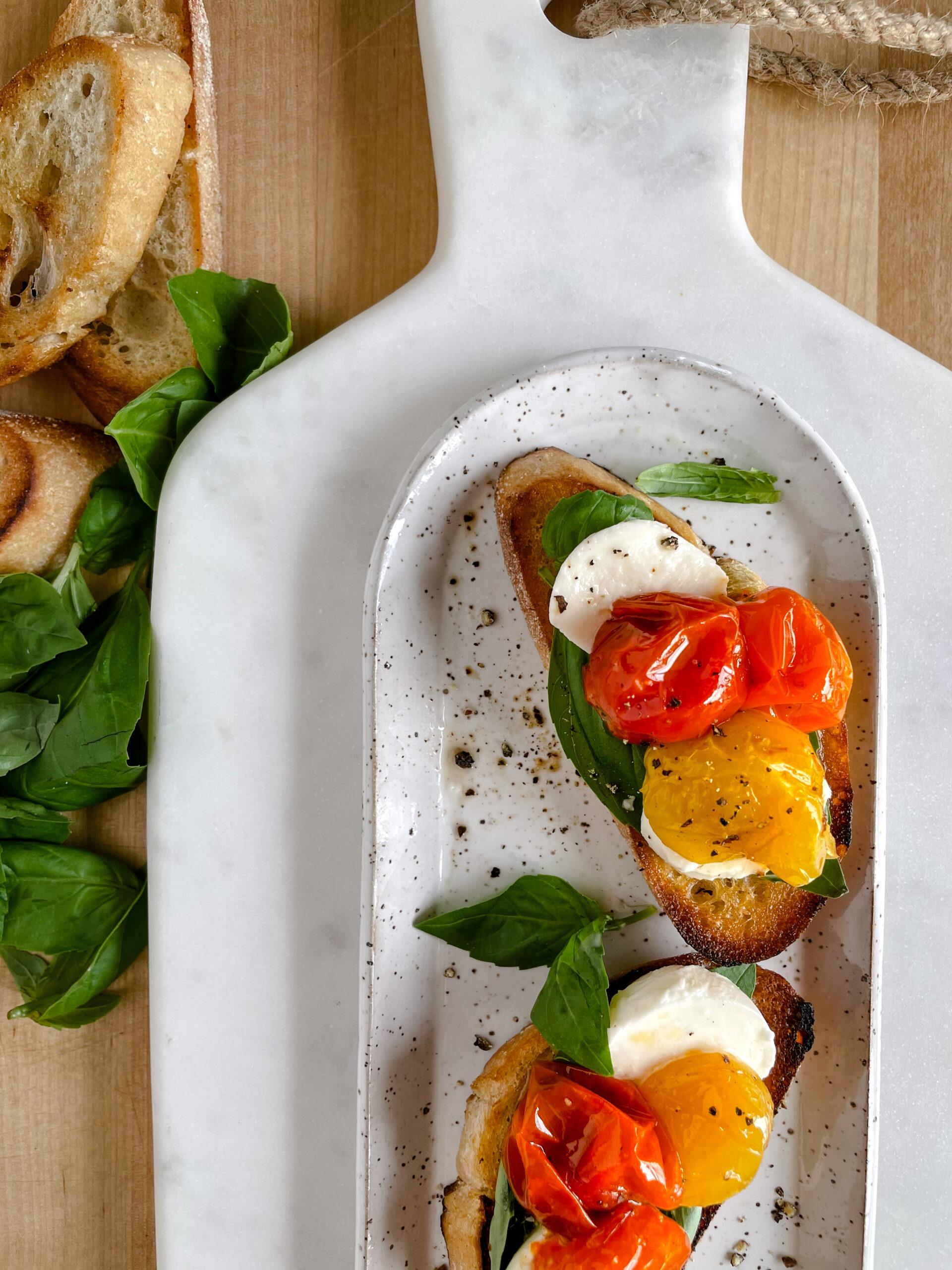 Slow Roasted Tomatoes Toast | sarahaasrdn.com