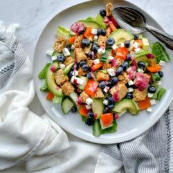 Simple Blueberry Summer Salad