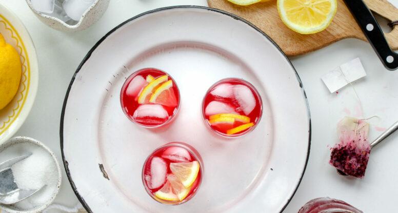 Passionfruit Tea Lemonade | sarahaasrdn.com