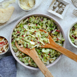 Crunchy Brussels Sprouts Salad