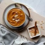 Roasted Butternut Squash Coconut Soup   sarahaasdn.com